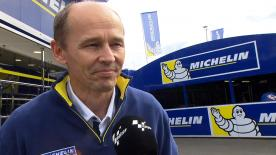 Michelin Racing's Technical Director, Nicolas Goubert, explains Michelin's point of view about Saturday's sessions