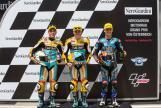 Gabriel Rodrigo, Juanfran Guevara, Aron Canet, NeroGiardini Motorrad Grand Prix von Österreich