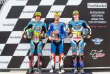 Mattia Pasini, Franco Morbidelli, Alex Marquez, NeroGiardini Motorrad Grand Prix von Österreich