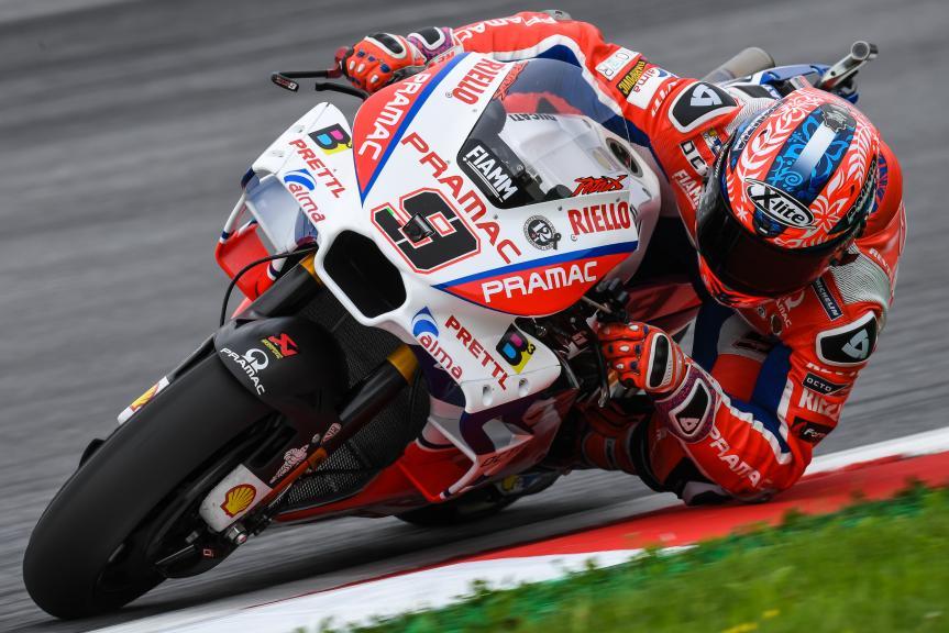Danilo Petrucci, Octo Pramac Racing, NeroGiardini Motorrad Grand Prix von Österreich