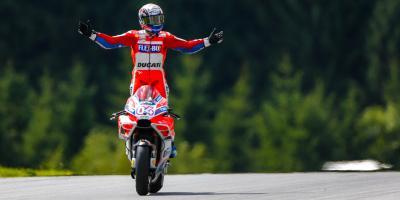 Troisième victoire de l'année pour Dovizioso en Autriche
