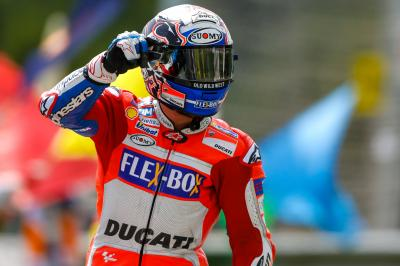 "Dovizioso: ""Marc always tries on the last lap!'"
