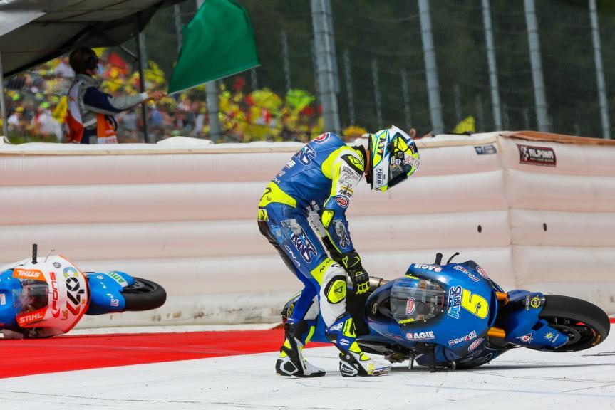Andrea Locatelli, Italtrans Racing Team, NeroGiardini Motorrad Grand Prix von Österreich