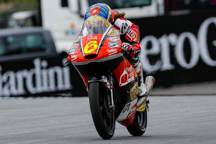 Maria Herrera, AGR Team, NeroGiardini Motorrad Grand Prix von Österreich
