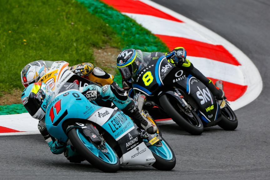 Livio Loi, Leopard Racing, NeroGiardini Motorrad Grand Prix von Österreich