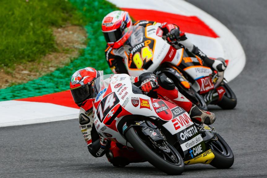 Tony Arbolino, SIC58 Squadra Corse, NeroGiardini Motorrad Grand Prix von Österreich