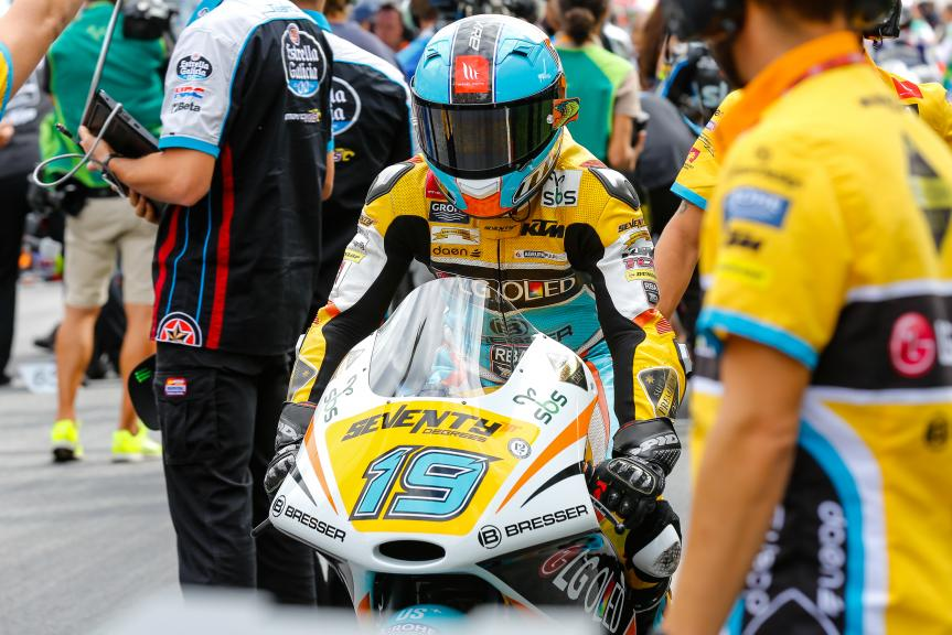 Gabriel Rodrigo, RBA BOE Racing Team, NeroGiardini Motorrad Grand Prix von Österreich