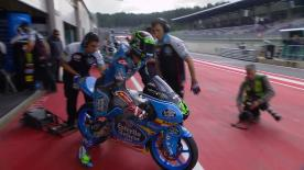 The entire Warm Up session for the Moto3™ World Championship at the #AustrianGP.