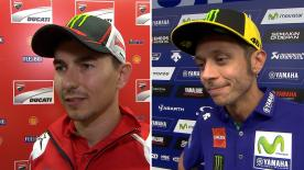 MotoGP™ riders give us feedback on their race results at the #AustrianGP.