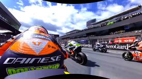 Enjoy the start of the MotoGP™ race in 360 from OnBoard Pol Espargaro's Red Bull KTM Factory Racing RC16