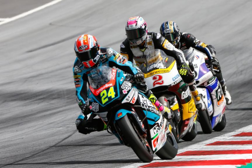 Simone Corsi, Speed Up Racing, NeroGiardini Motorrad Grand Prix von Österreich