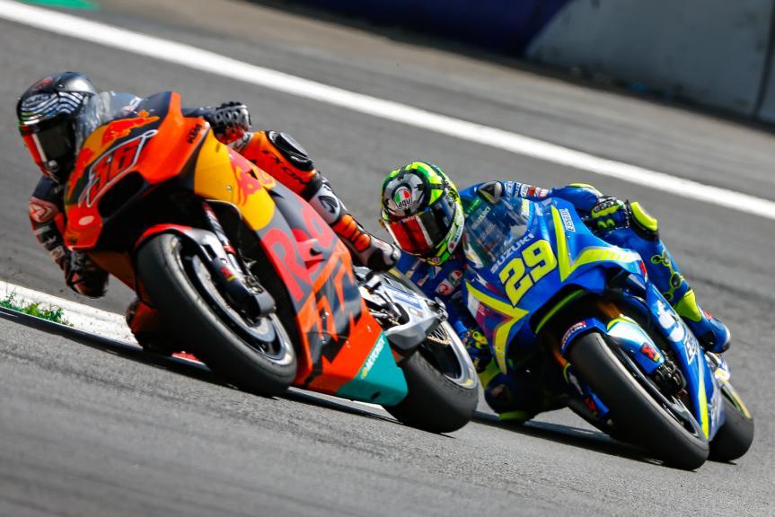 Mika Kallio, Andrea Iannone, NeroGiardini Motorrad Grand Prix von Österreich