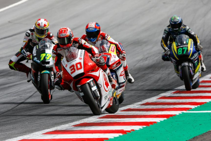 Takaaki Nakagami, Idemitsu Honda Team Asia, NeroGiardini Motorrad Grand Prix von Österreich