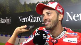 The third victory of the season for 'DesmoDovi', who explains his strategy at the last corner