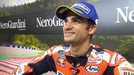 """The Repsol Honda rider finished third after completing a """"very difficult weekend"""""""