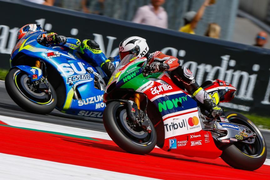 Aleix Espargaro, Alex Rins, NeroGiardini Motorrad Grand Prix von Österreich