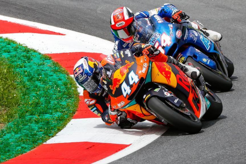 Miguel Oliveira, Mattia Pasini, NeroGiardini Motorrad Grand Prix von Österreich