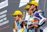 Joan Mir, Philipp Oettl, Jorge Martin, NeroGiardini Motorrad Grand Prix von Österreich