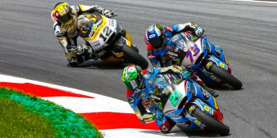 Seventh heaven for Morbidelli in Austria