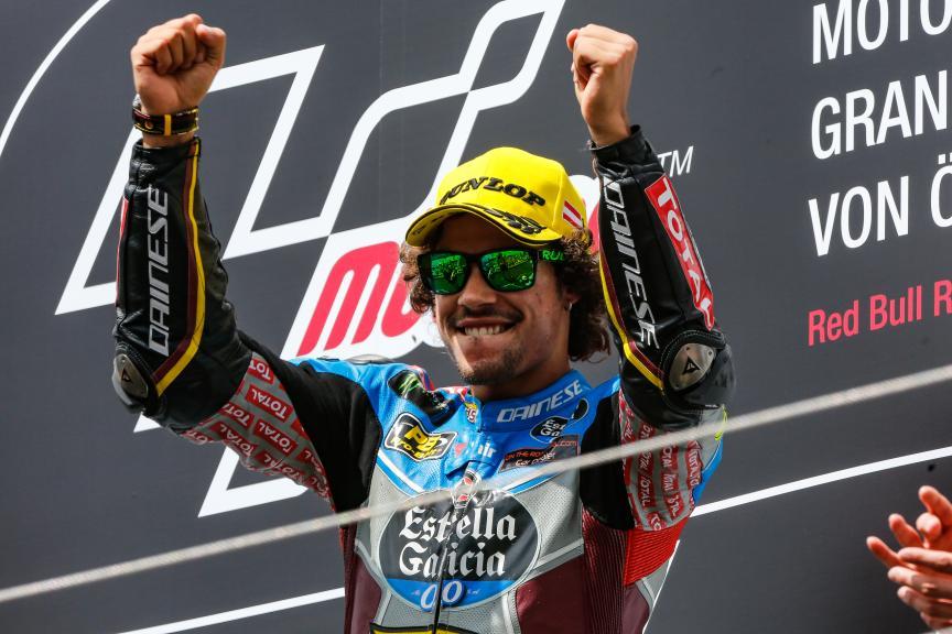 Franco Morbidelli, Eg 0,0 Marc Vds, NeroGiardini Motorrad Grand Prix von Österreich
