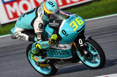 Mir dirige le warm-up Moto3™ au Red Bull Ring