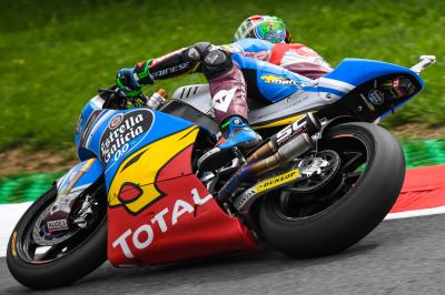 A Morbidelli il warm up austriaco