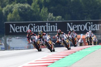 GP d'Austria, Gara 2 della Red Bull Rookies va a Masaki
