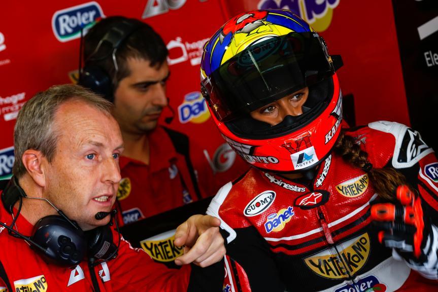 Maria Herrera, AGR Team, Austrian Official Test, Moto2 - Moto3