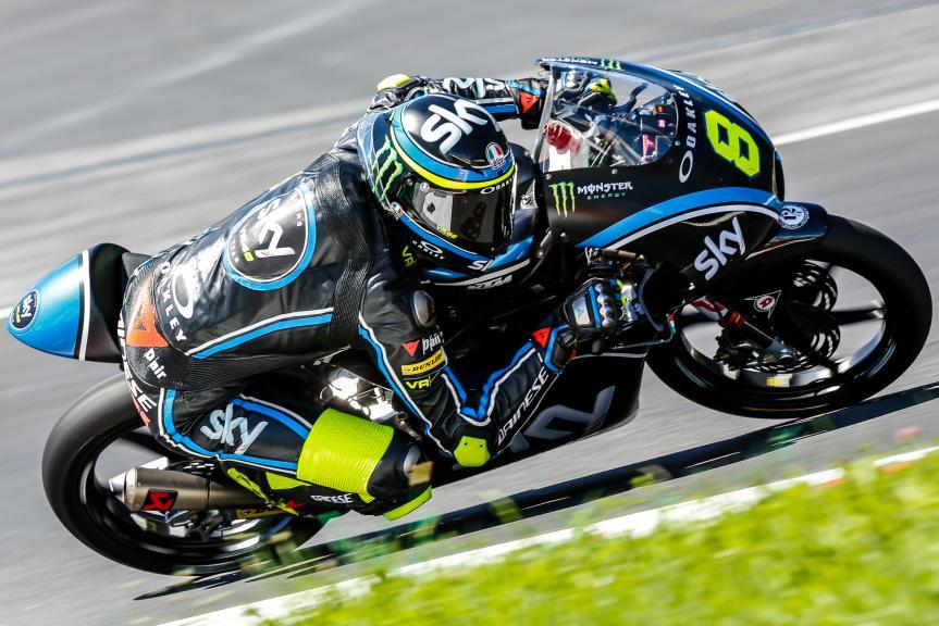 Nicolo Bulega, Sky Racing Team VR46, Austrian Official Test, Moto2 - Moto3