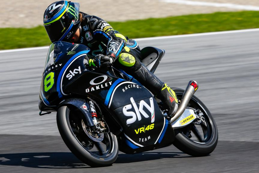 Nicolo Bulega, Sky Racing Team VR46, Austrian Official Test, Moto2 - Moto3
