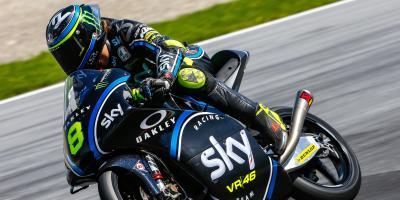 Moto3™ get testing in Austria