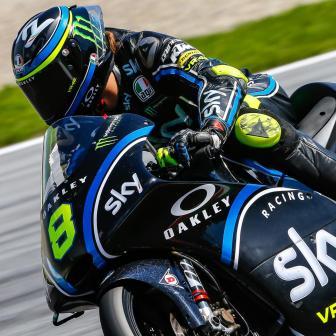 Die Moto3™ testet in Österreich