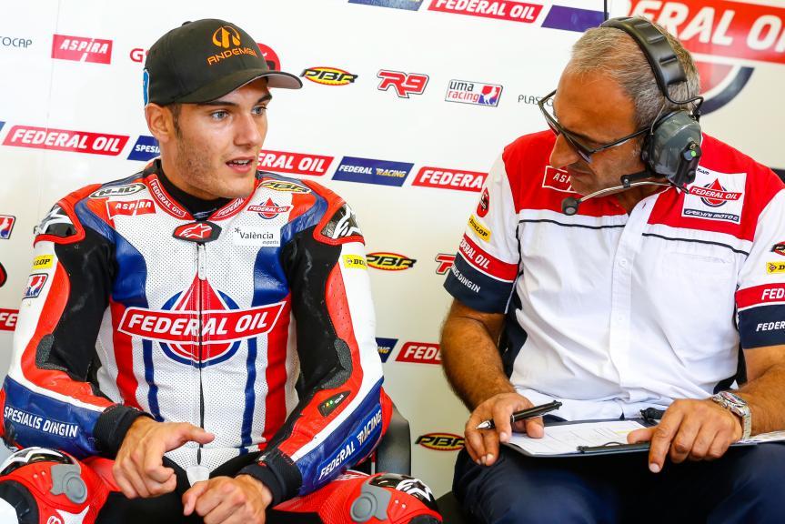 Jorge Navarro, Federal Oil Gresini Moto2, Austrian Official Test, Moto2 - Moto3