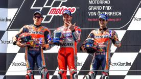 Andrea Dovizioso and Marc Marquez had one of the best head-to-head battles in the history of MotoGP™