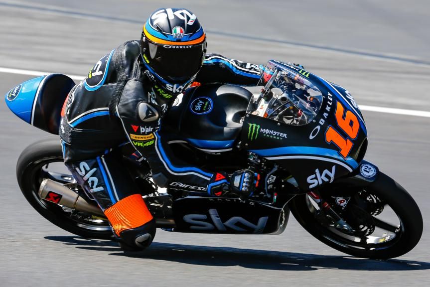 Andrea Migno, Sky Racing Team VR46, Austrian Official Test, Moto2 - Moto3