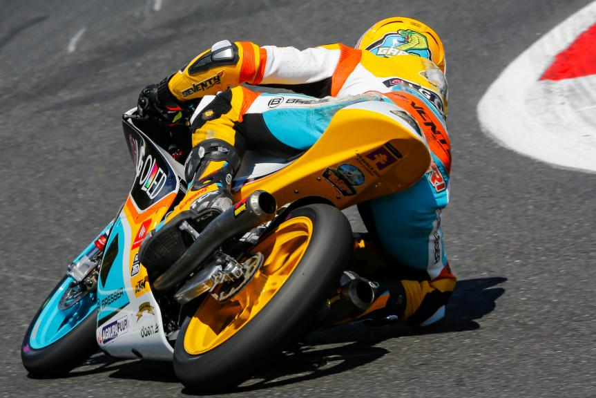 Gabriel Rodrigo, RBA BOE Racing Team, Austrian Official Test, Moto2 - Moto3