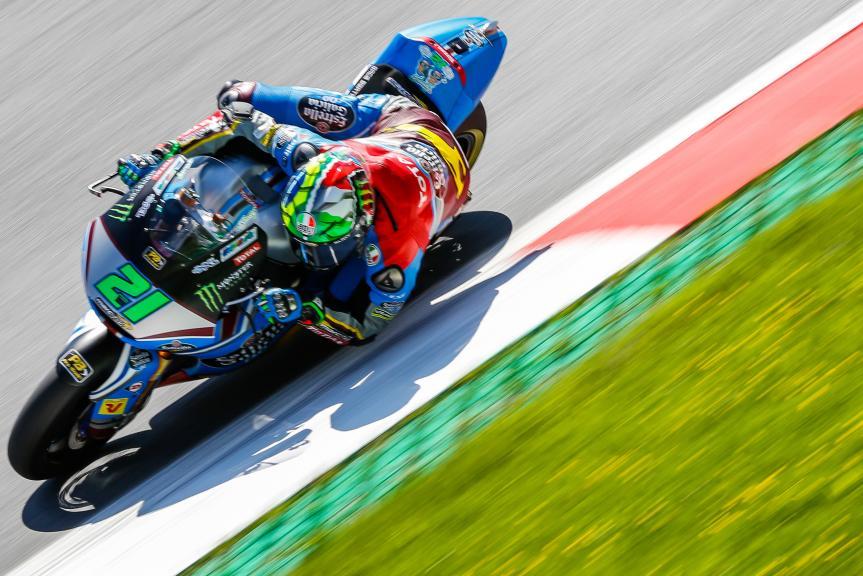 Franco Morbidelli, Eg 0,0 Marc Vds, Austrian Official Test, Moto2 - Moto3