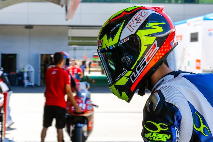 Isaac Vinales, SAG Team, Austrian Official Test, Moto2 - Moto3