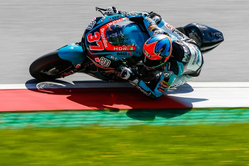 Augusto Fernandez, Speed Up Racing, Austrian Official Test, Moto2 - Moto3