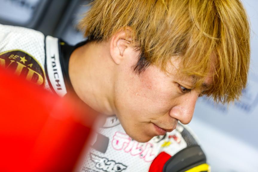 Tetsuta Nagashima, Teluru SAG Team, Austrian Official Test, Moto2 - Moto3