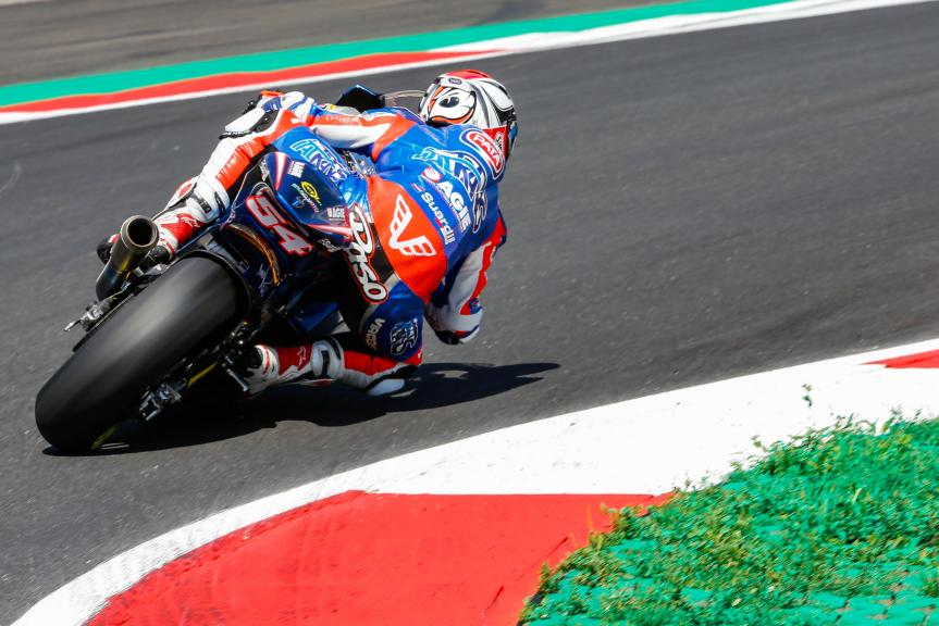 Mattia Pasini, Italtrans Racing Team, Austrian Official Test, Moto2 - Moto3