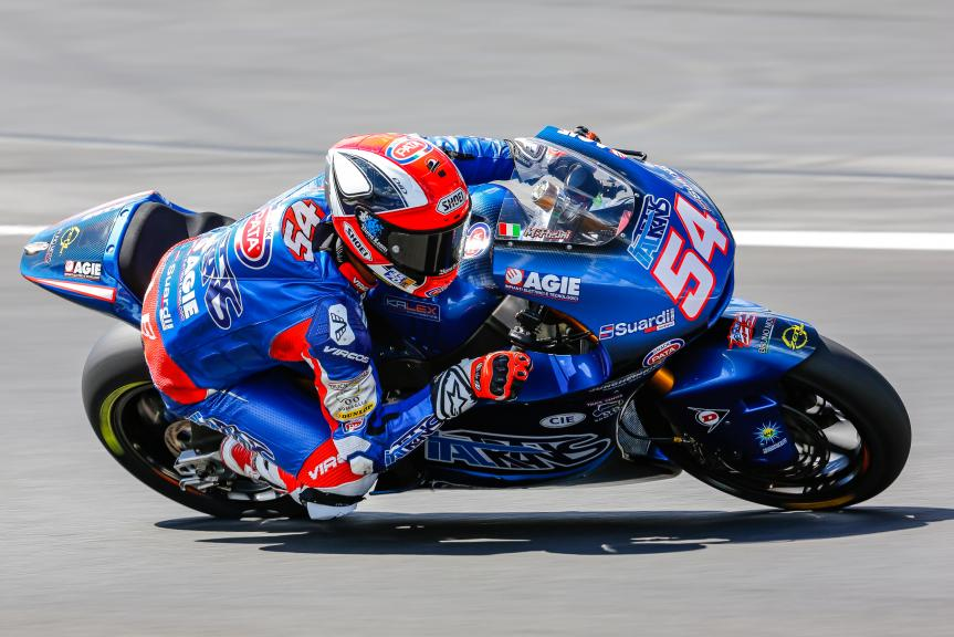 Mattia Pasini, Italtrans Racing Team, Austrian Official Test, Moto2 - Moto3