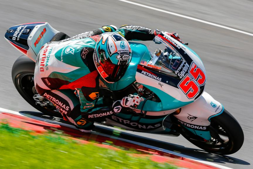Hafizh Syahrin, Petronas Raceline Malaysia, Austrian Official Test, Moto2 - Moto3