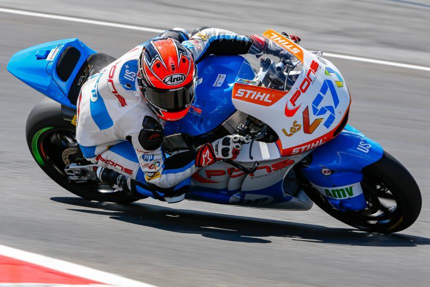 Edgar Pons, Pons HP40, Austrian Official Test, Moto2 - Moto3