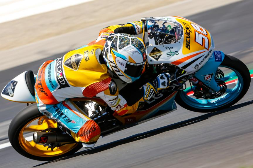Juanfran Guevara, RBA BOE Racing Team, Austrian Official Test, Moto2 - Moto3