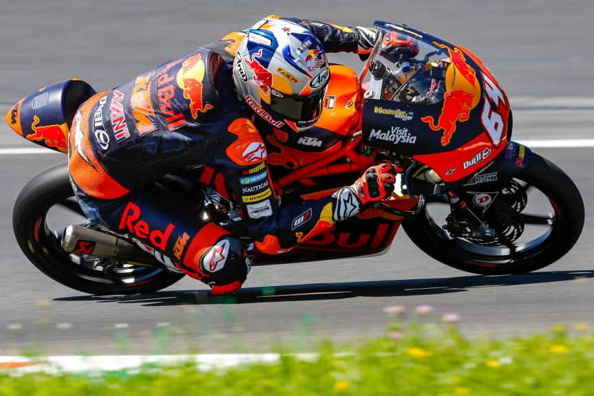 Bo Bendsneyder, Red Bull KTM Ajo, Austrian Official Test, Moto2 - Moto3
