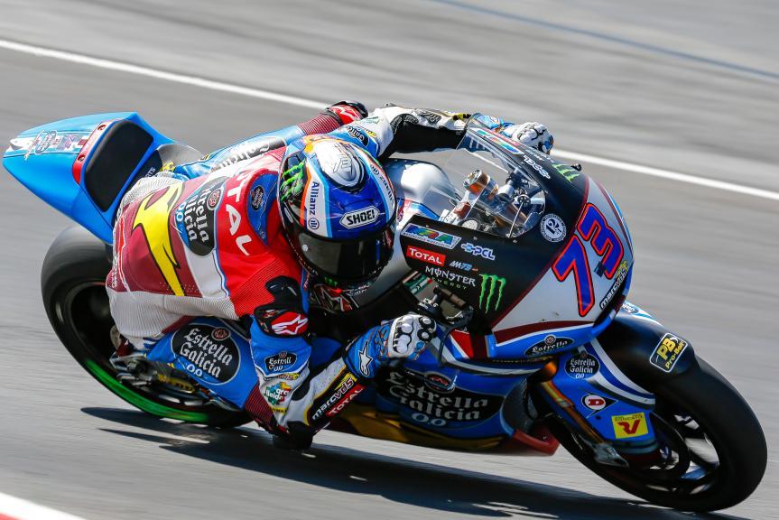 Alex Marquez, EG 0,0 Marc VDS, Austrian Official Test, Moto2 - Moto3