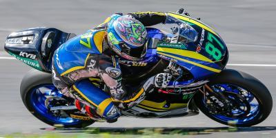 Jornada de test para Moto2™ en Austria