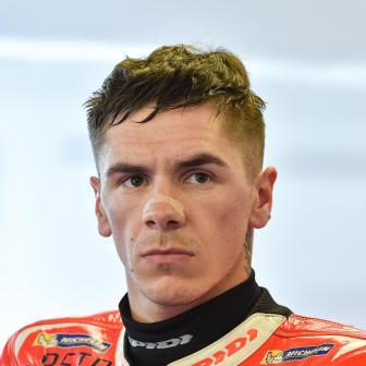 Redding 2018 mit Aprilia Racing Team Gresini