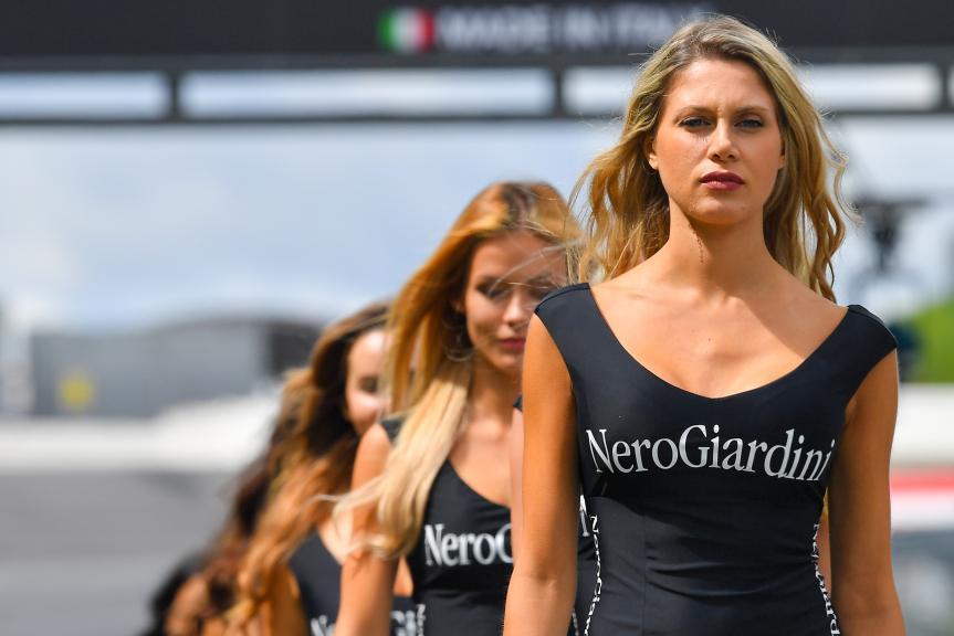 Paddock Girls, NeroGiardini Motorrad Grand Prix von Österreich
